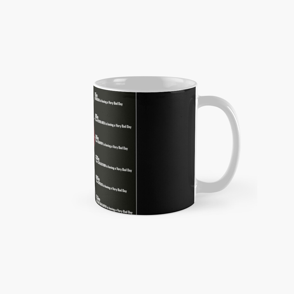 Ranking Your Asteroid Day (A Visual Guide) Mugs