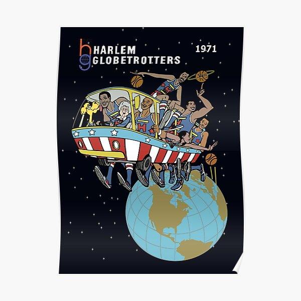 THE HARLEM GLOBETROTTERS - 1971 Poster