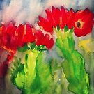 Cactus Flowers by Charisse Colbert