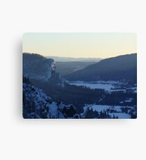 Mountains CO Canvas Print