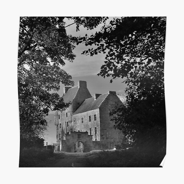 'Lallybroch' Midhope Castle  Poster