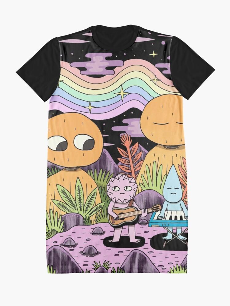 Alternate view of Spectrum Graphic T-Shirt Dress
