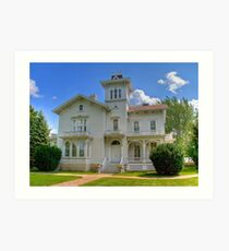 Galloway House Art Print