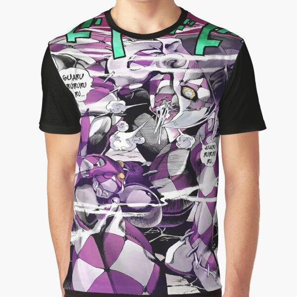 Jojo's Stand Purple haze Part5 Giorno  T-shirt graphique