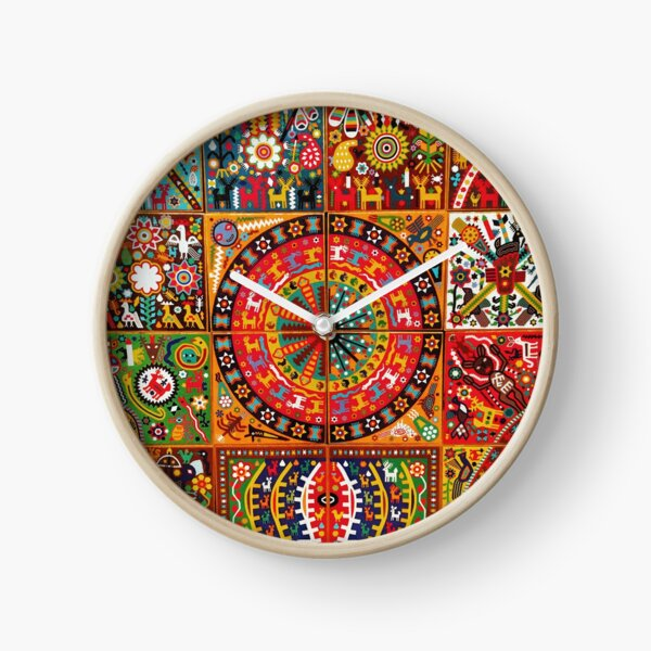 MEXICO ART Clock