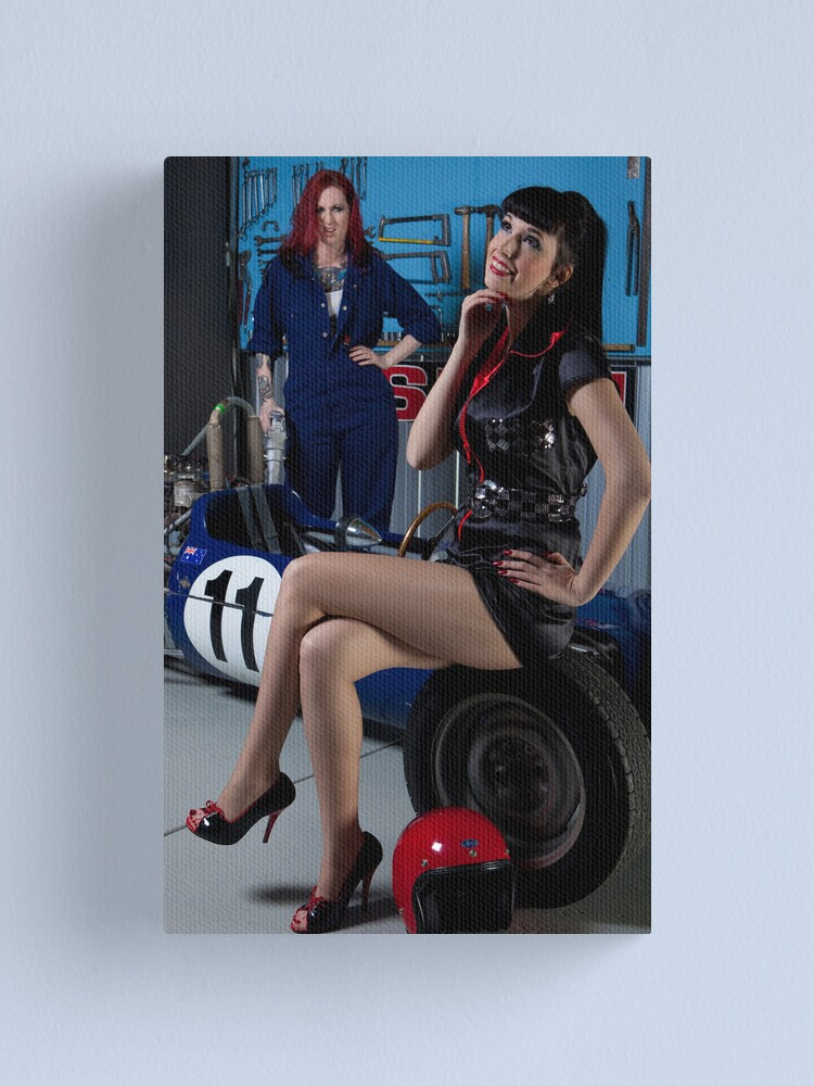Alternate view of Pitstop series #1 Canvas Print