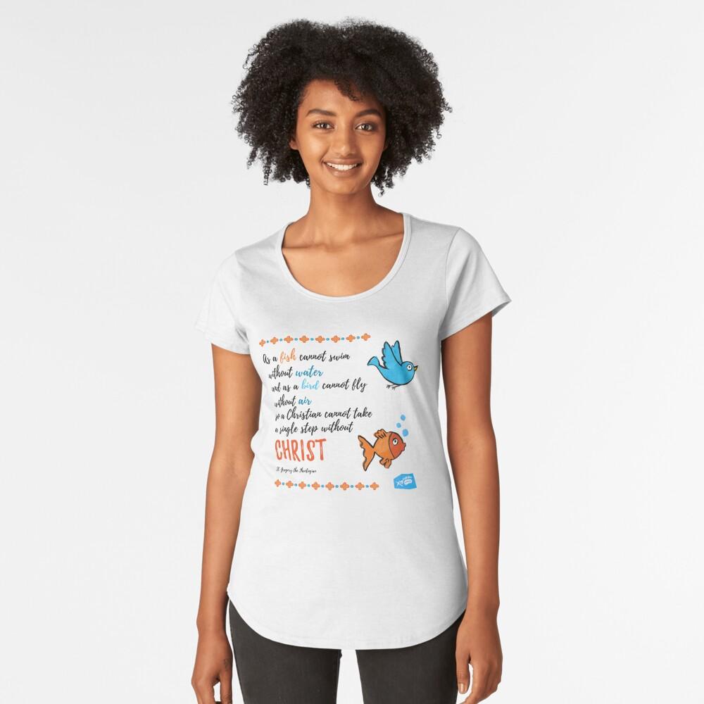 St Gregory Theologian quote Premium Scoop T-Shirt