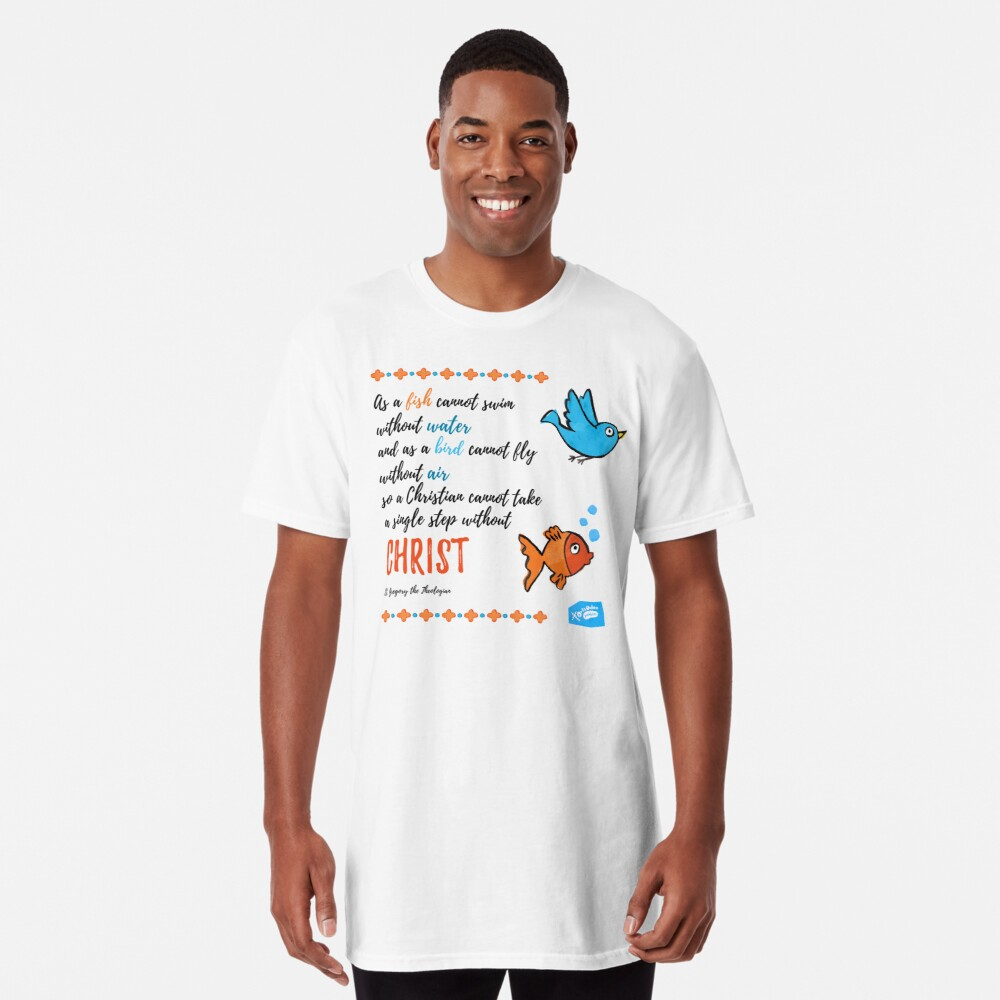 St Gregory Theologian quote Long T-Shirt