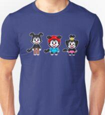 Animaniacs - Yakko, Wakko, & Dot Warner Chibi Pixels T-Shirt
