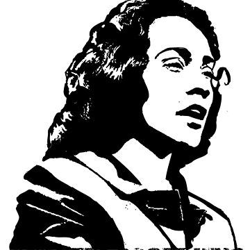 Coretta Scott King by dirtycitypigeon