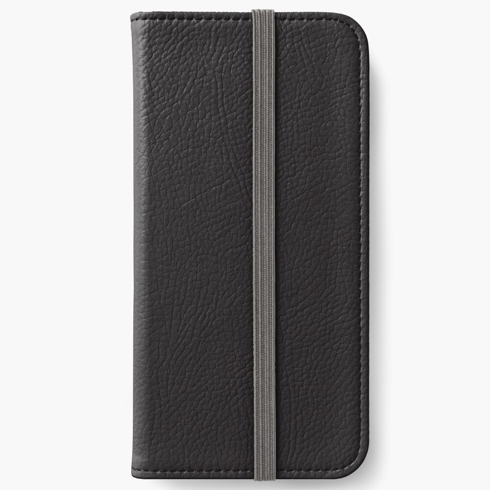 Onyx schwarz iPhone Flip-Case
