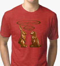 Chocolate Easter Bunnies Tri-blend T-Shirt