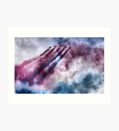painting the sky RAF style Art Print