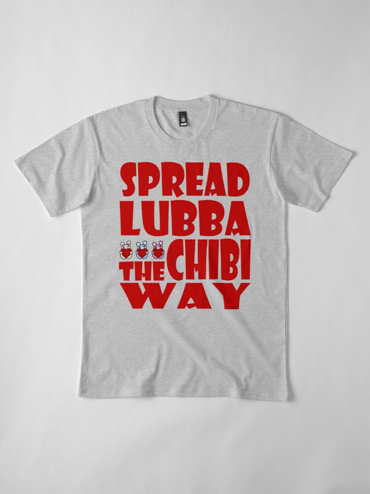 Alternate view of STPC: Three Chibis: Spread Lubba the Chibi Way Premium T-Shirt