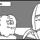 Bananas are notorious Liars by Michael Lee