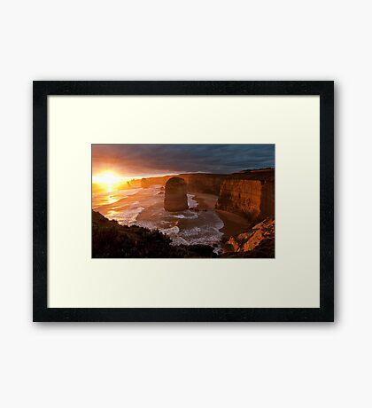 Iconic Apostles Framed Print