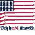 THIS IS NOT AMERICA by FREE T-Shirts