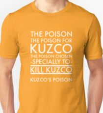 The Poison. in white Unisex T-Shirt