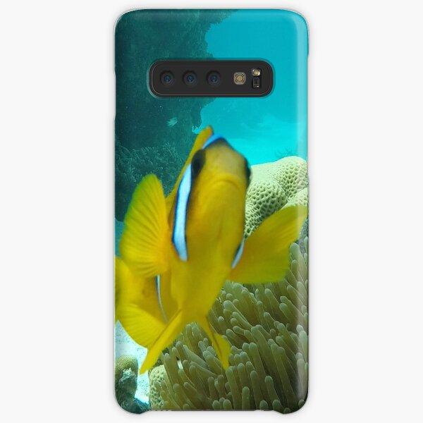 Fisch sagt Unterwasser Hallo Samsung Galaxy Leichte Hülle