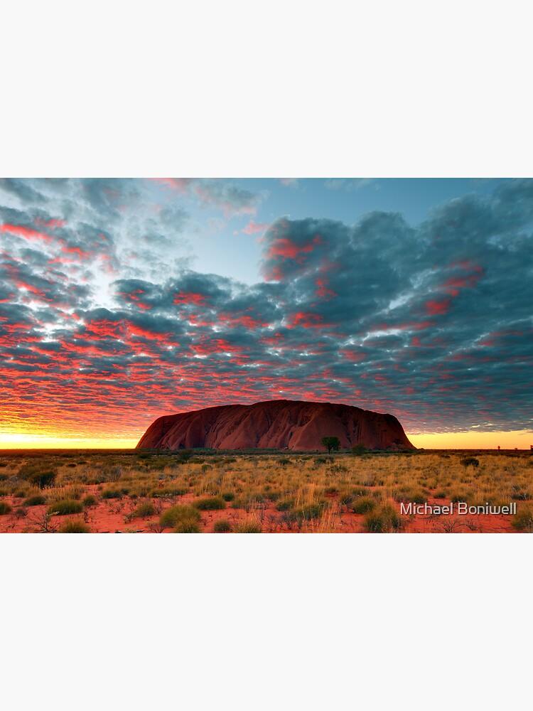 Ayers Rock (Uluru) Sunrise, Australia by Chockstone