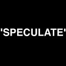 speculate by Henry Aldridge