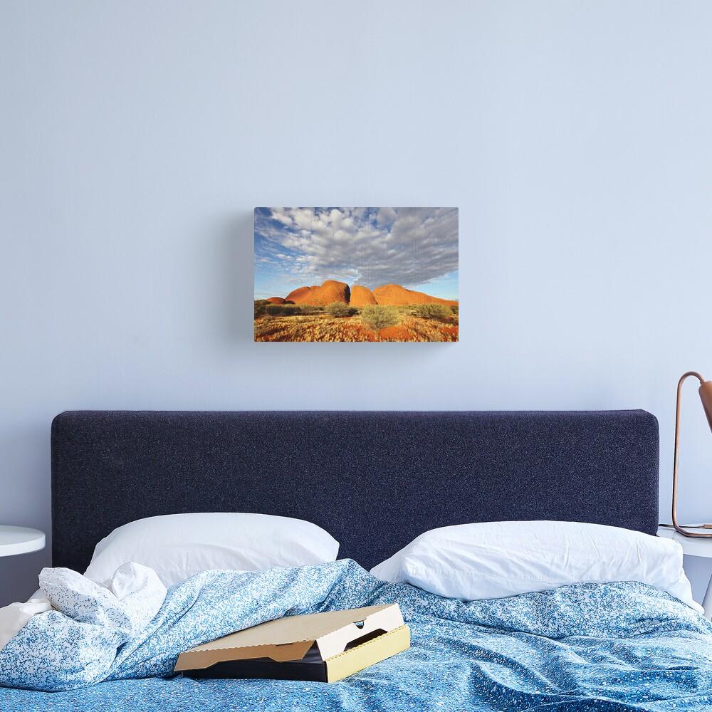 The Olgas (Kata Tjuta), Sunset, Australia Canvas Print