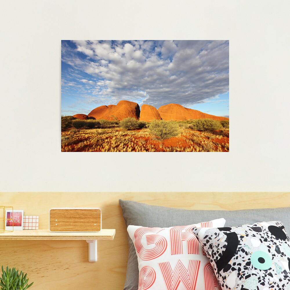 The Olgas (Kata Tjuta), Sunset, Australia Photographic Print