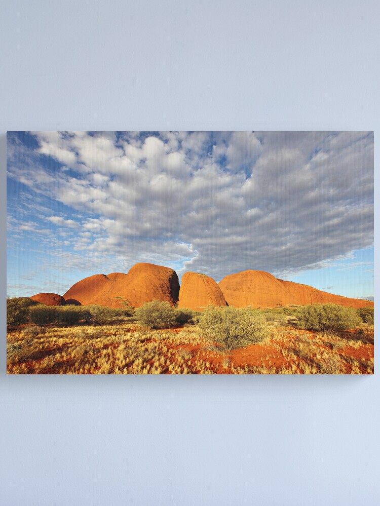 Alternate view of The Olgas (Kata Tjuta), Sunset, Australia Canvas Print