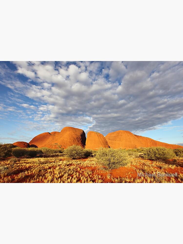 The Olgas (Kata Tjuta), Sunset, Australia by Chockstone
