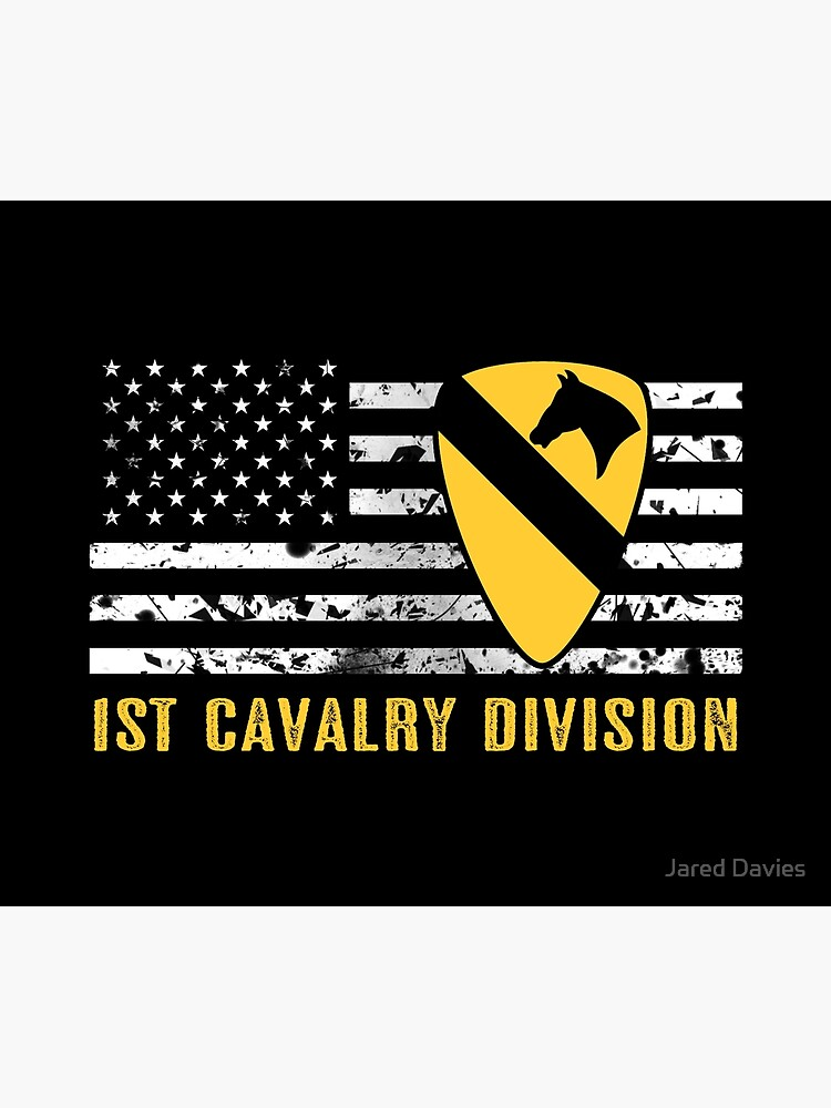 1st Cavalry Division (Distressed Flag) by MilitaryCandA
