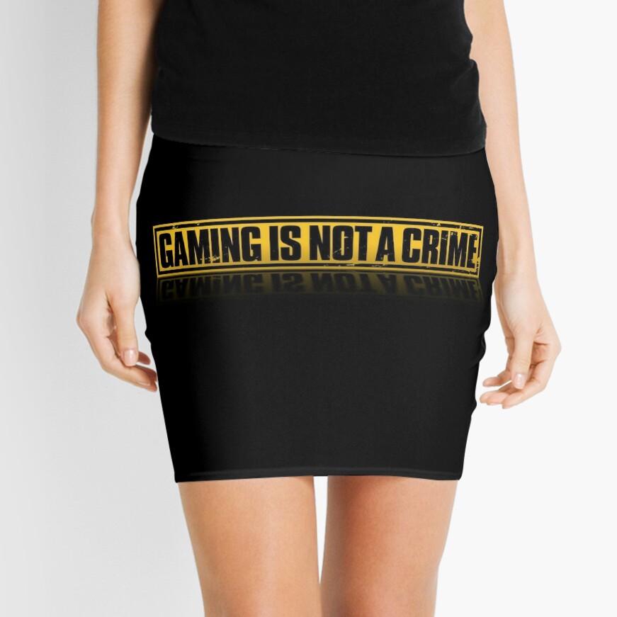 EL JUEGO NO ES UN CRIMEN Minifalda