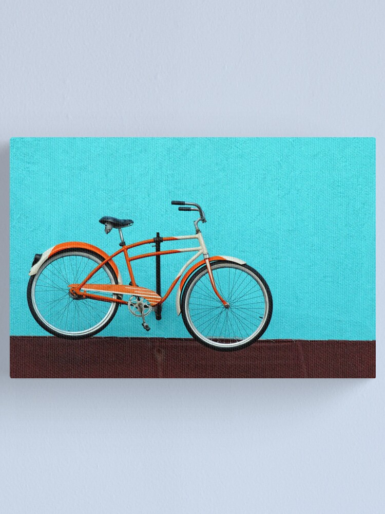 Alternate view of Bicycle Canvas Print