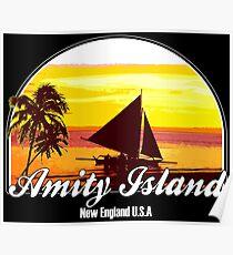 Amity Island Poster