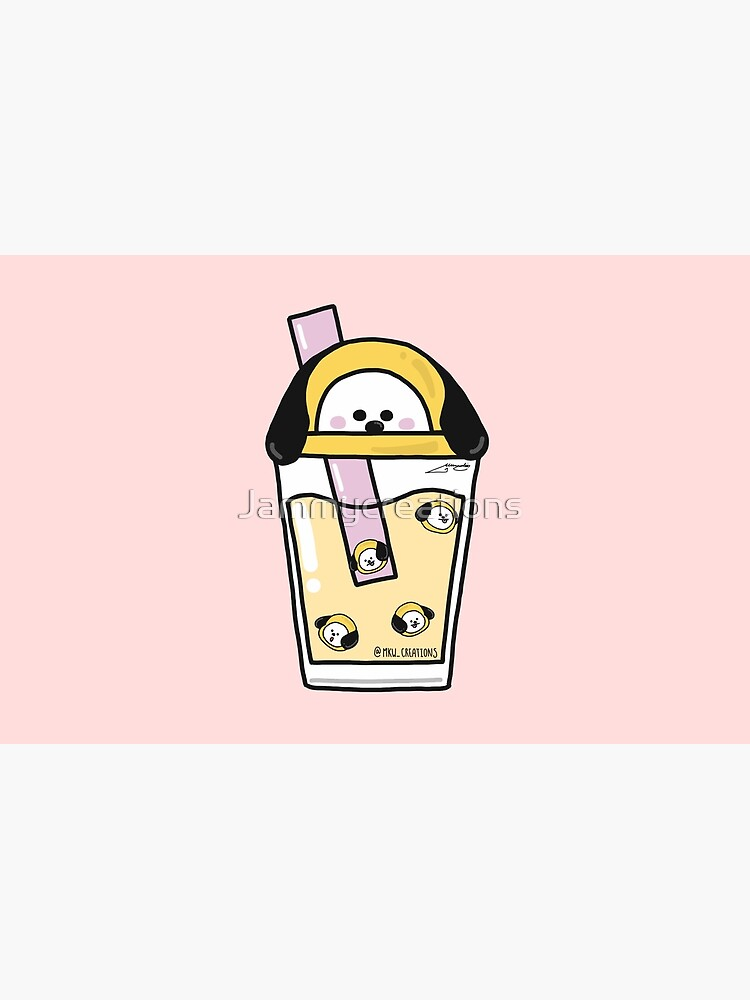 BT21 bubble tea (Chimmy ver.) by Jammycreations