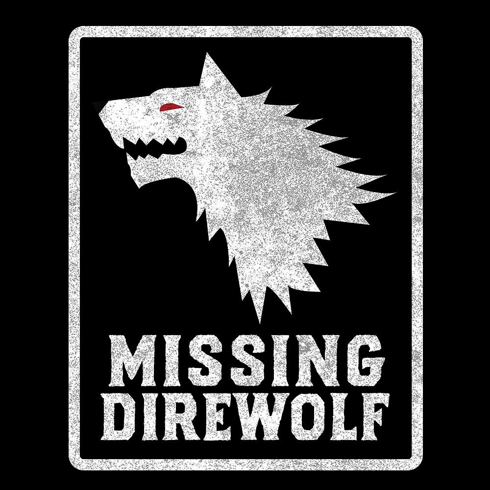 Missing Direwolf  by wikirascals