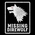 Missing Direwolf  by wikirascals