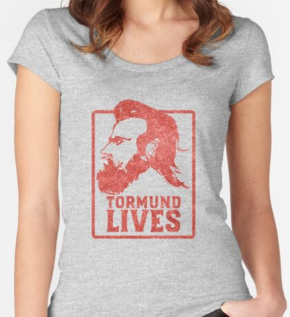 Tormund Lives  Fitted Scoop T-Shirt