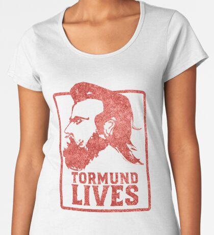 Tormund Lives  Premium Scoop T-Shirt