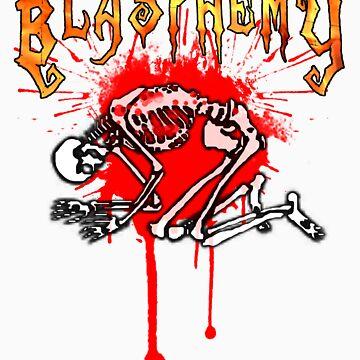 Bleeding Through Death Metal by BlakkWear