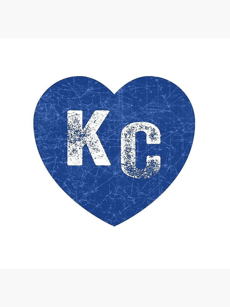 Royal Blue KC Blue Heart Kansas City Hearts I Love Kc heart Kansas city KC Face mask Kansas City facemask by kcfanshop