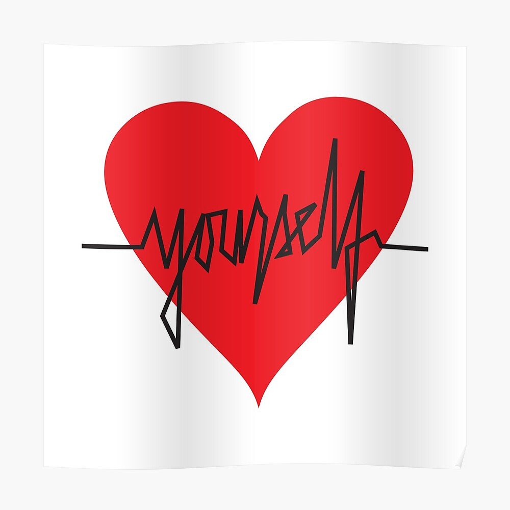 love yourself - zachary martin Poster