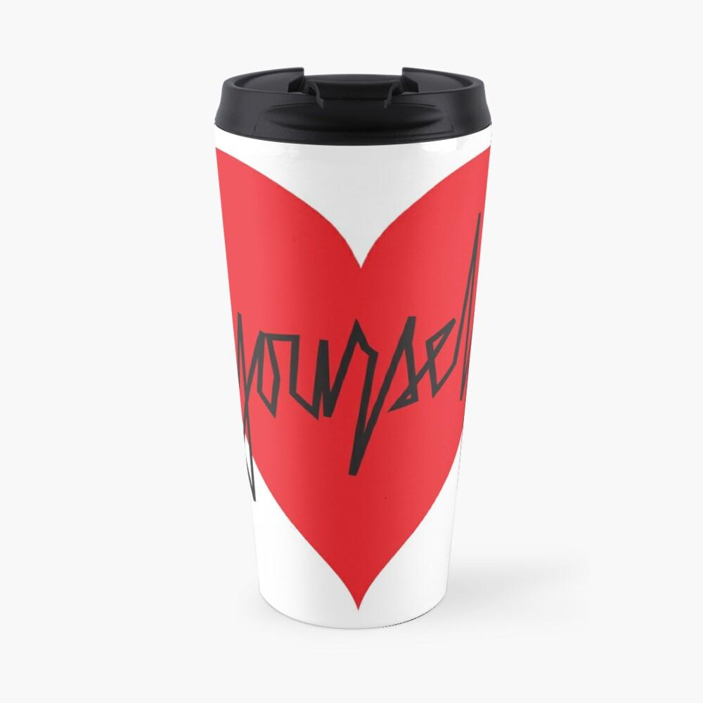 love yourself - zachary martin Travel Mug