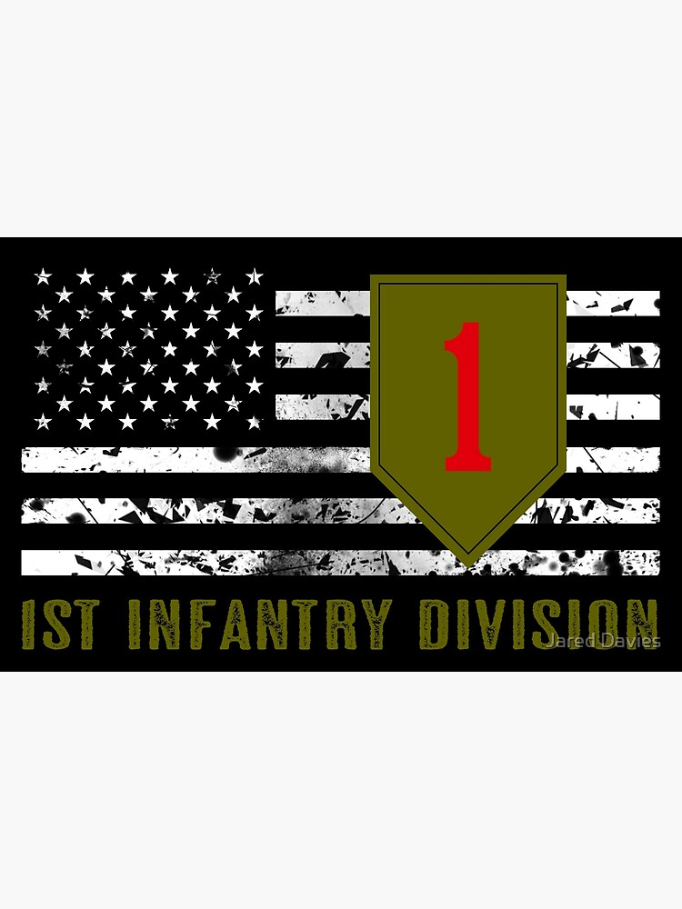 1st Infantry Division (Distressed Flag) by MilitaryCandA
