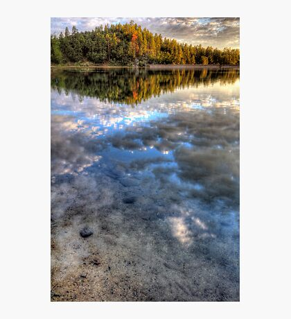 Sky Water Photographic Print