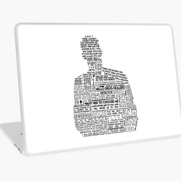 Luzifer Morningstar Typografie Laptop Folie