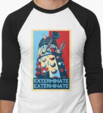 EXTERMINATE Hope Men's Baseball ¾ T-Shirt