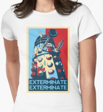 EXTERMINATE Hope Women's Fitted T-Shirt