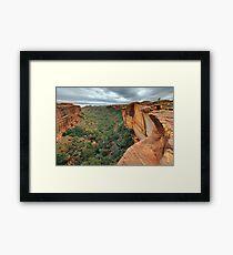 Kings Canyon, Northern Territory, Australia Framed Print