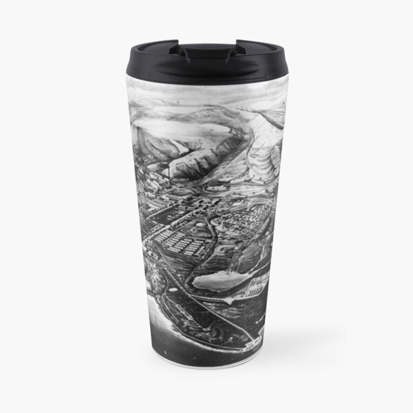 Norilsk, Norillag Map Travel Mug