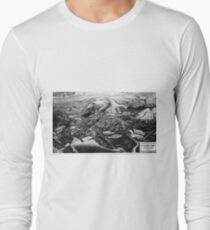 Norilsk, Norillag Map Long Sleeve T-Shirt